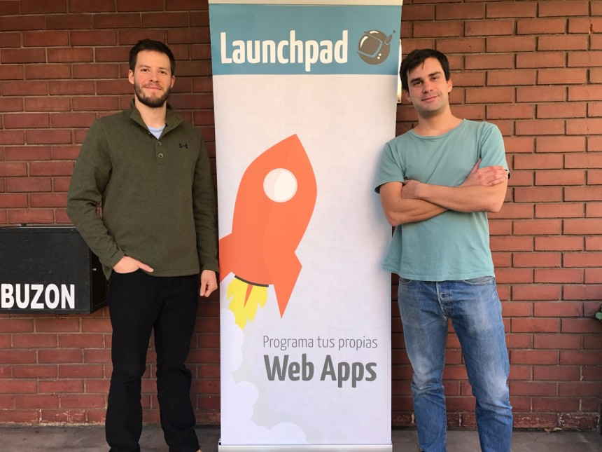 Equipo Launchpad- Benjamín Cox (CEO) y Luis Fernando Allende (cofundador) baja - Edited